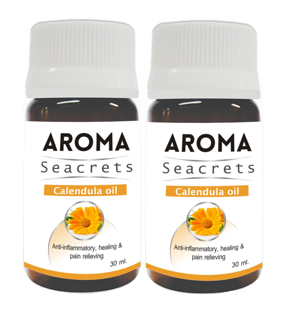 Aroma Seacrets Calendula Oil (30ml) - Pack of 2
