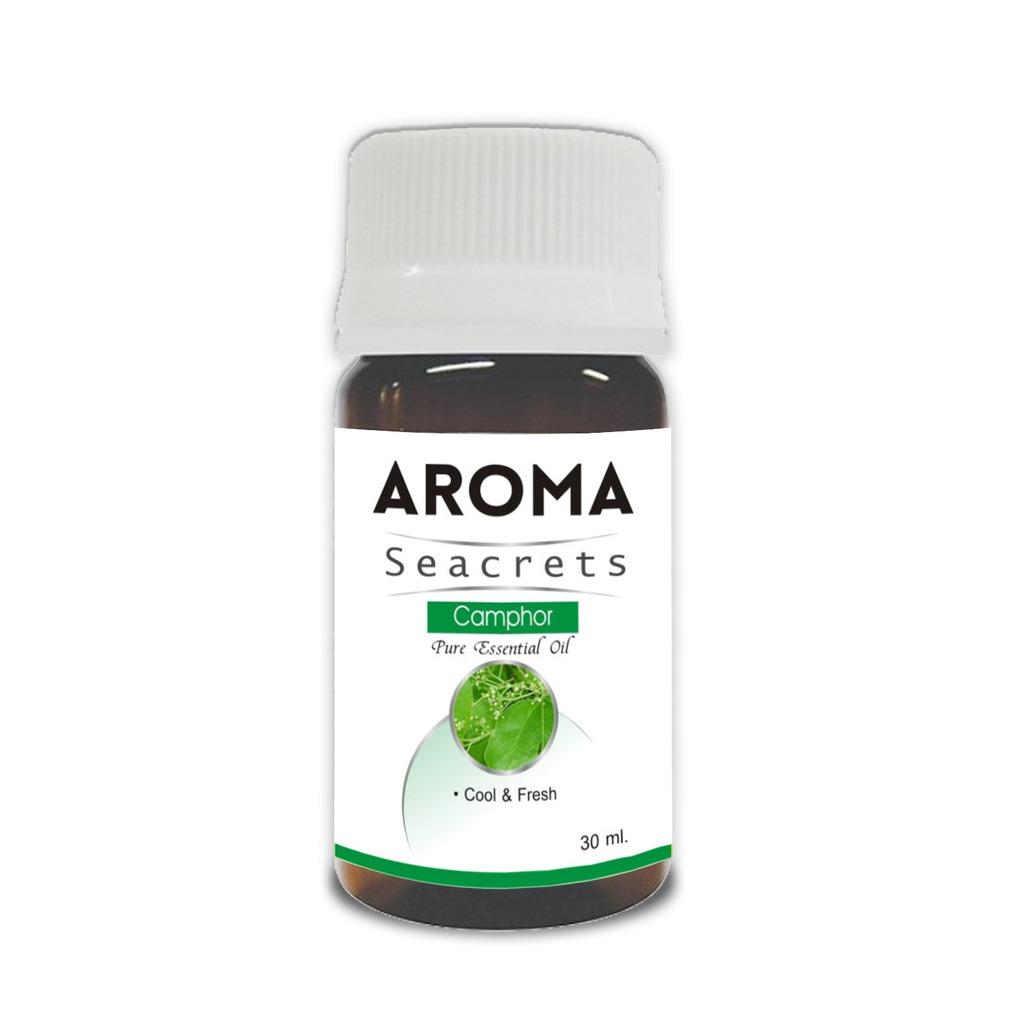 Aroma Seacrets Camphor Pure Essential Oil - 30ml